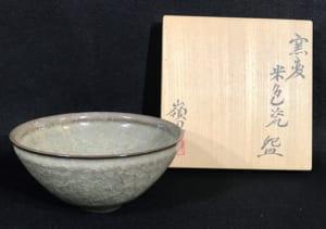 窯変米色瓷