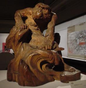 写実木彫師 高村光雲