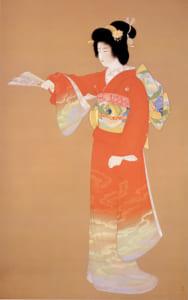 上村松園「序の舞」東京藝術大学蔵