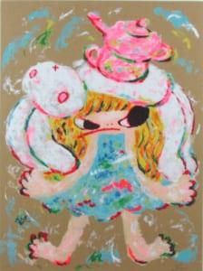 世界が注目する若手芸術家:ロッカクアヤコ